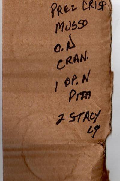 found grocery list