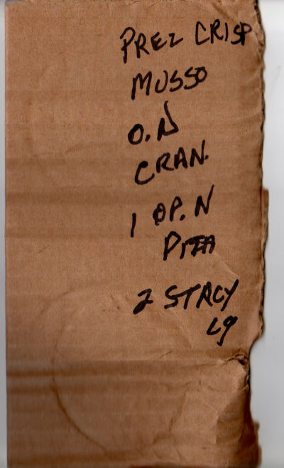 grocery list 1