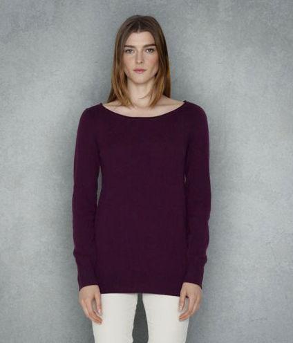 eggplant sweater