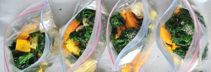 bags of smoothie fruits