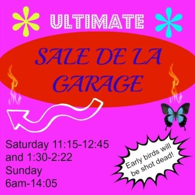 Lifewhack: Garage Sale it Up
