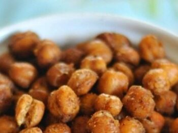 bombay roasted chickpeas