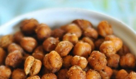 Knock off Bombay Spice Roasted Chickpeas
