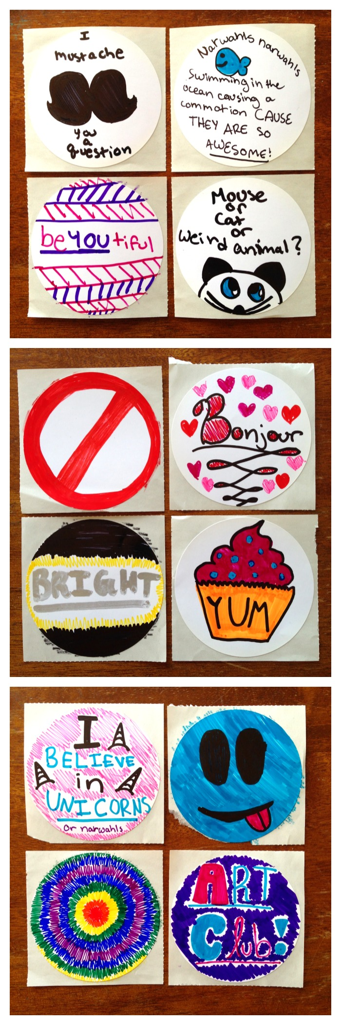 Make stickers