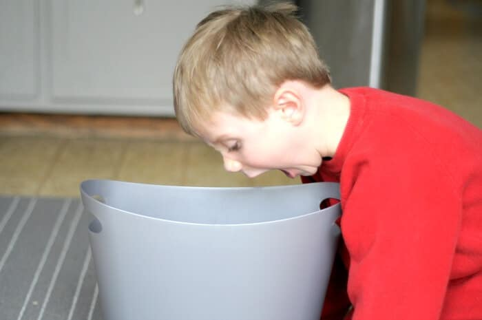 barf bucket