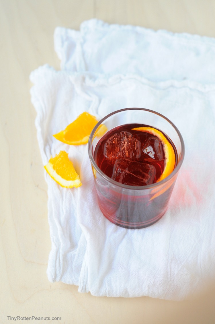 Delicious Negroni cocktail- perfect for summer