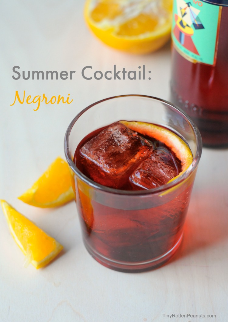 Negroni: the perfect summer cocktail