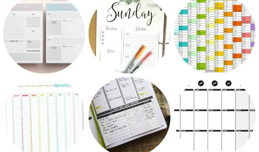 2016 printable planner you can probably use any time