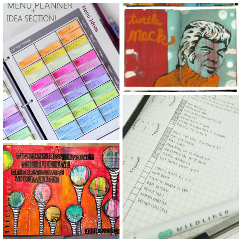 12 fantastic journal and planner ideas craftwhack