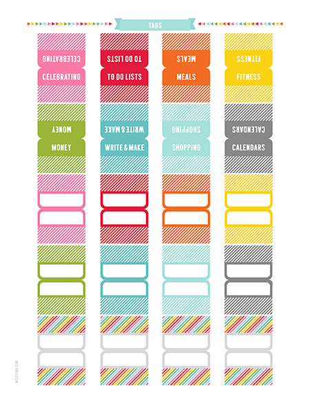 printable planner and calendar