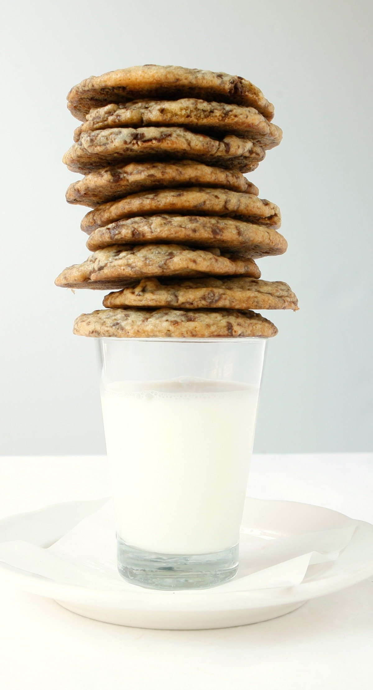 Chocolate chip cookies made using the best ingredients I could find - it was so cool to taste the difference!