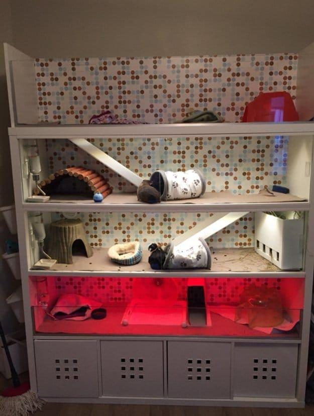 Ikea DIY Guinea Pig home