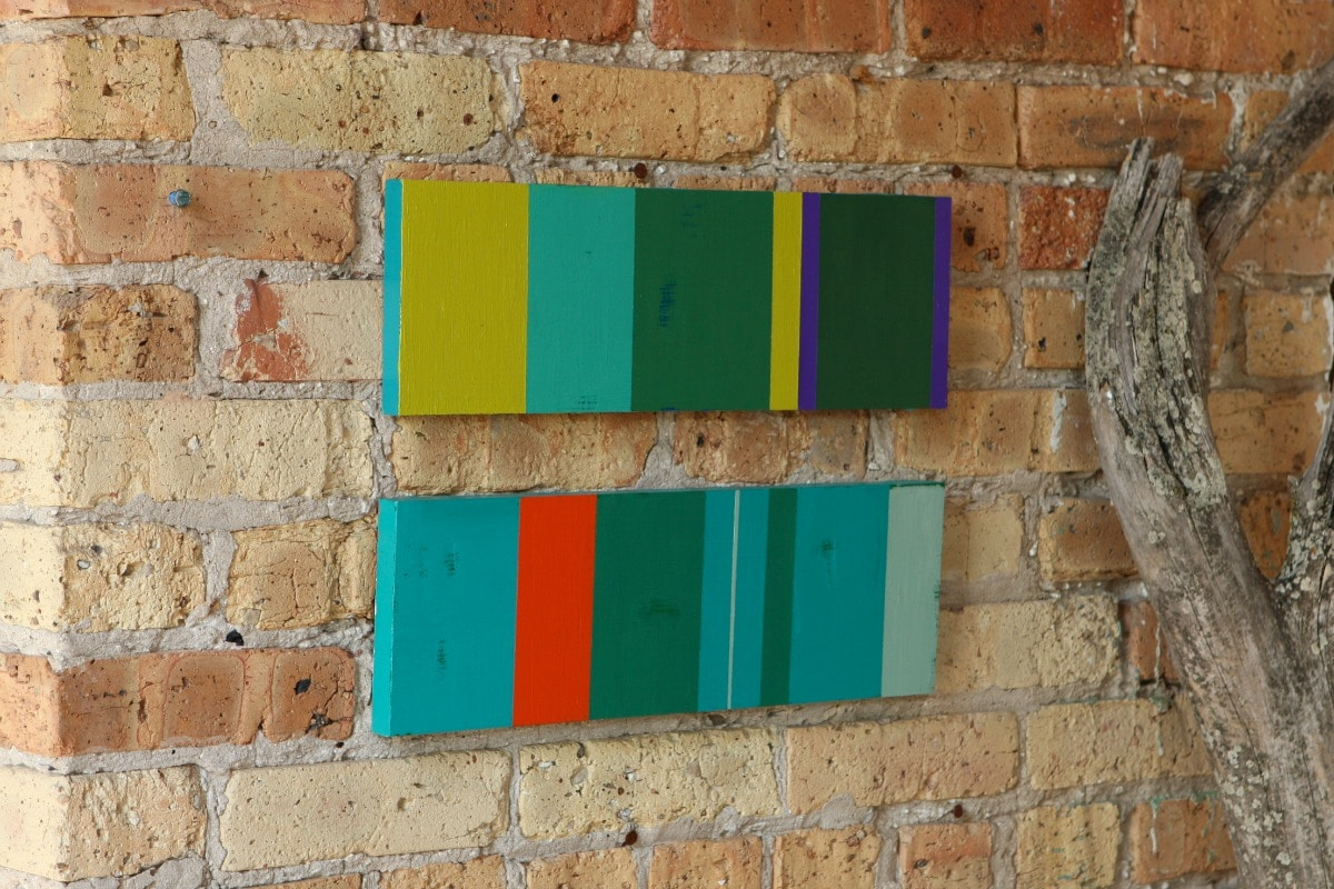 abstract acrylic paintings by Jeanette Nyberg