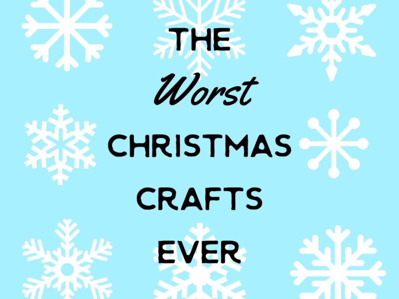 bad christmas crafts