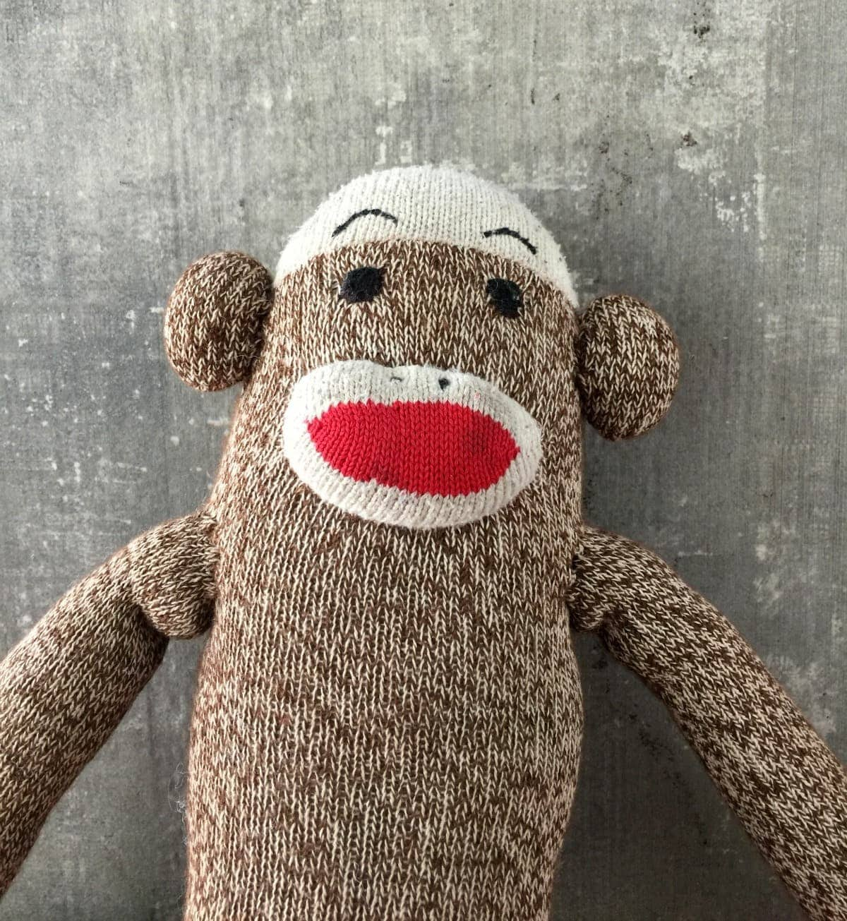 classic sock monkey